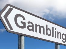 gambling sign